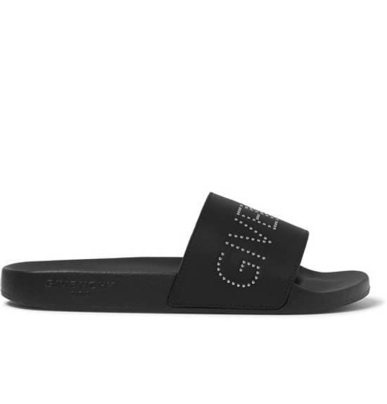 Givenchy studded leather slides black sandals Size US 11 / EU 44