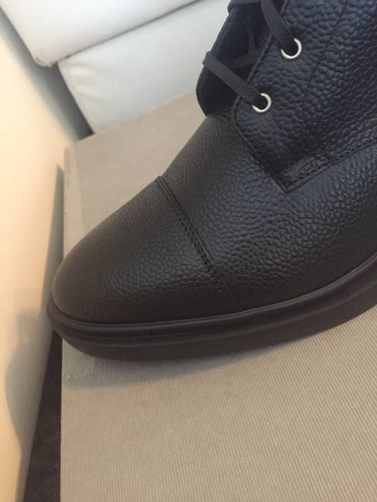 Thom Browne New $790 Pebbled Leather Boots Size US 8 / EU 41 - 1