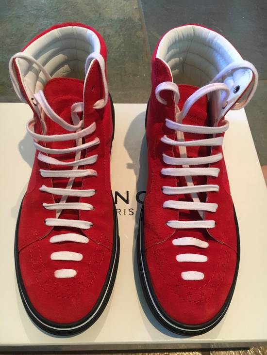 Givenchy Red Givenchy High Tops Size US 7.5 / EU 40-41 - 2