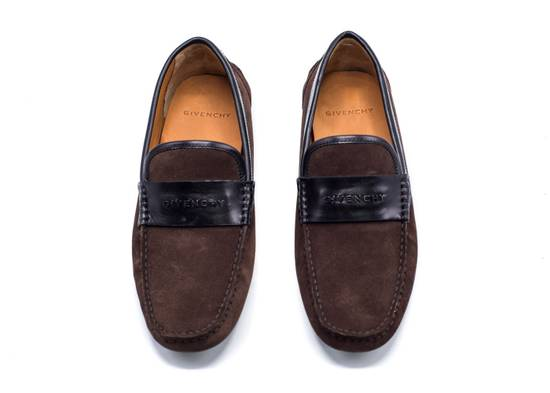 Givenchy Givenchy Men's Dark Brown Black Suede Loafers Slip Ons Size US 8 / EU 41 - 1