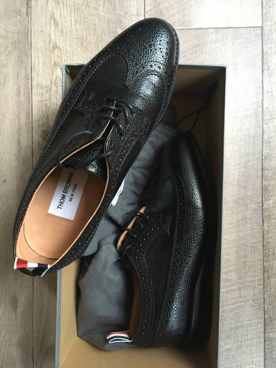 Thom Browne Classic longwing pebble grain brogues Size US 5.5 / EU 38