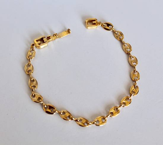 Givenchy Gold Plated Gucci-Link Bracelet Size ONE SIZE - 1