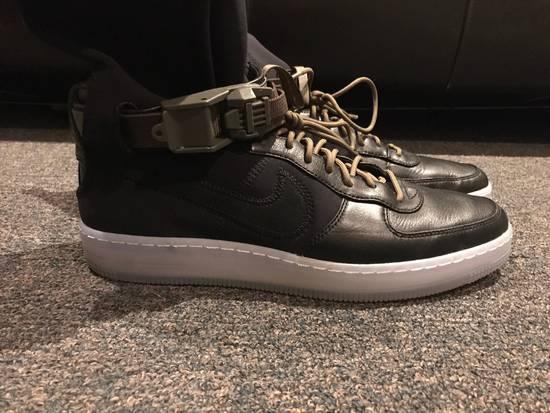 Nike AF1 Downtown Hi SP Black/black-medium olive Size US 9.5 / EU 42-43 - 3
