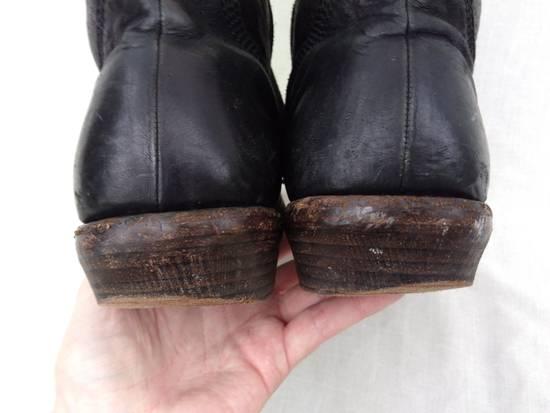Julius f/w09 Tall Combat Boots Black Size US 11 / EU 44 - 10
