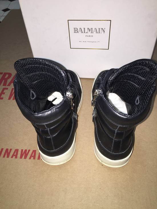 Balmain High Top Sneakers Size US 7 / EU 40 - 3