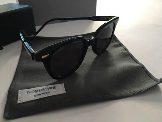 Thom Browne TB-405-A-T Black w/Deep Grey AR lens Size ONE SIZE - 1