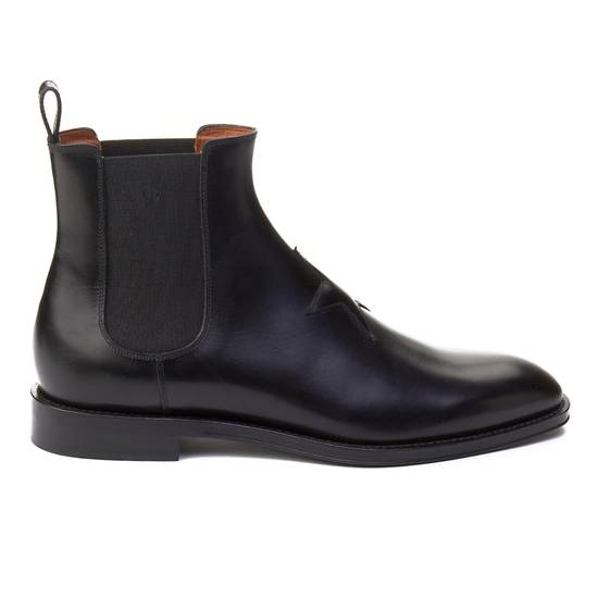 Givenchy Givenchy Men's Leather Star Patch Chelsea Boot Shoes Black Size 41 Size US 8 / EU 41 - 2