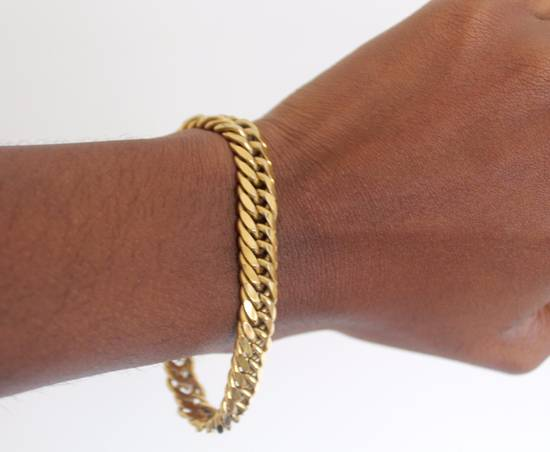 Givenchy Gold Plated Curb-Link Bracelet Size ONE SIZE