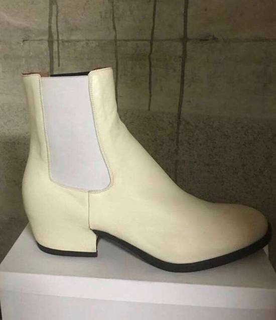 Givenchy 44 & 46 / SS18 Cream High Top Wedge Boot Size US 11 / EU 44