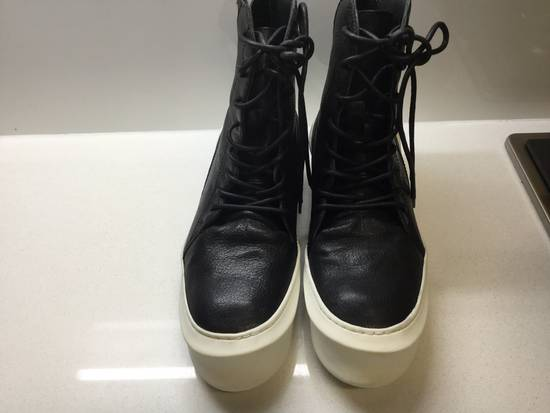 Julius Pebbled Leather Hi Top Liquid Sole Aw 2014 Size US 11 / EU 44 - 1