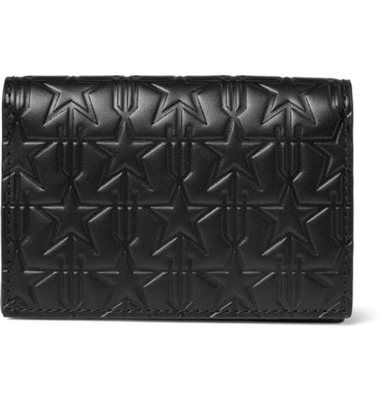 Givenchy Star-Embossed Leather Cardholder Size ONE SIZE