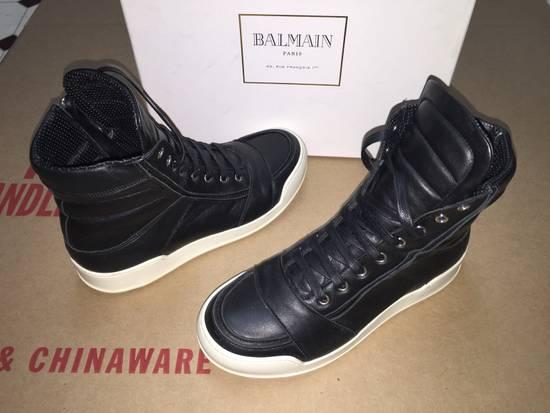 Balmain High Top Sneakers Size US 7 / EU 40