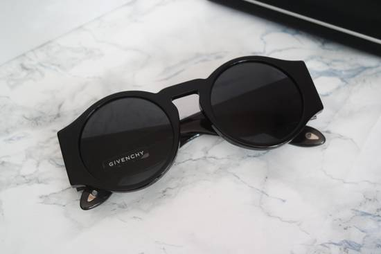 Givenchy NEW Givenchy 7056/S Black Round Thick Leg Circle Sunglasses Size ONE SIZE - 3