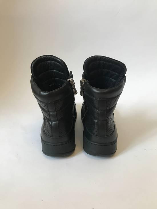 Balmain high leather sneakers Size US 8 / EU 41 - 4