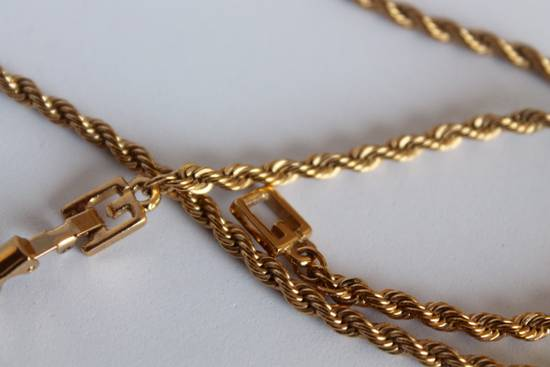 Givenchy Gold Plated Rope-Link Necklace Size ONE SIZE - 1