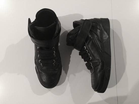 Givenchy Black leather hi-top Size US 9.5 / EU 42-43 - 1