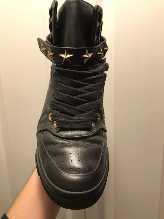 Givenchy Tyson Star Sneaker Black Gold Star Size US 11 / EU 44 - 3