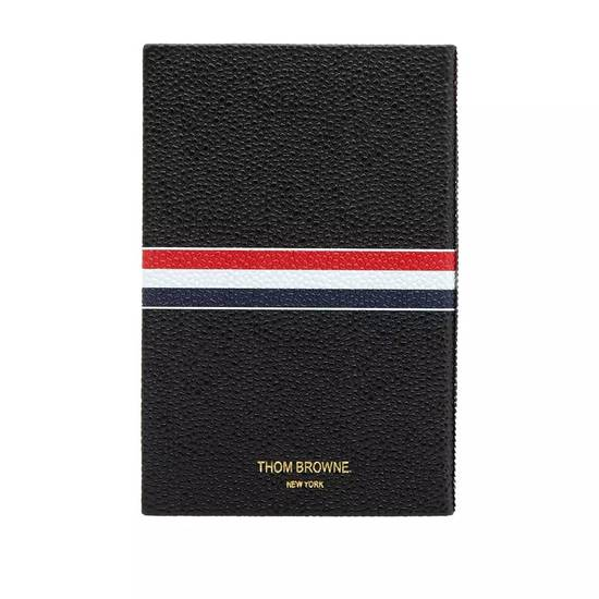 Thom Browne Thom Browne pebble grain leather notebook Size ONE SIZE