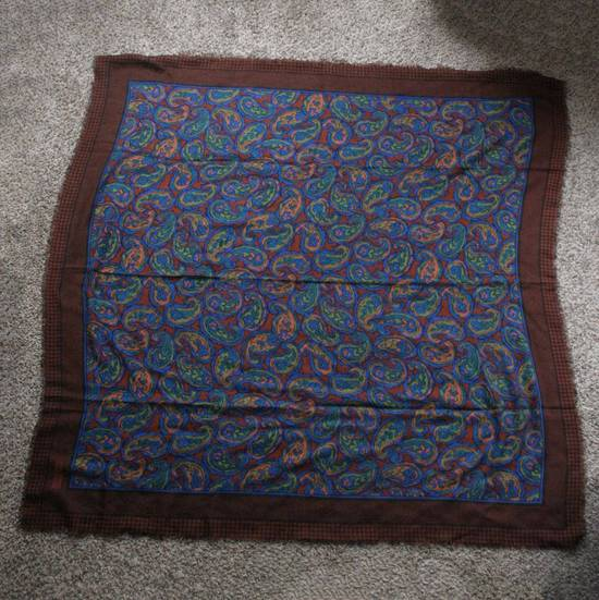 Givenchy Vintage Paisley Silk Scarf Size ONE SIZE - 1