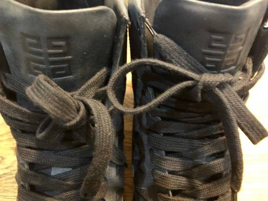 Givenchy Givenchy by Riccardo Tisci 2010 Triple black covered studs sneakers Size US 7 / EU 40 - 2
