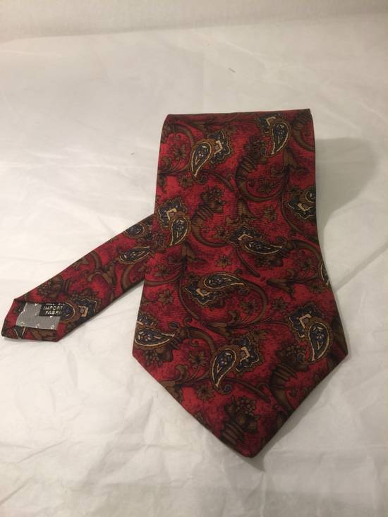 Givenchy Givenchy Monsieur Red Paisley Tie Size ONE SIZE