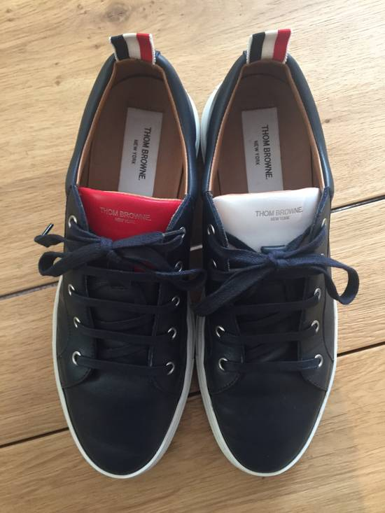 Thom Browne Leather Trainer Size US 9 / EU 42 - 1