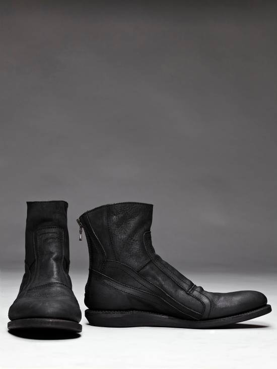 Julius SS12 [edge;] Cowhide Wedge-sole Back-zip Boots Size US 9 / EU 42 - 1