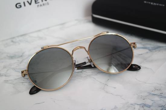 Givenchy NEW Givenchy 7079/S Gold Metal Silver Mirrored Round Sunglasses Size ONE SIZE - 2