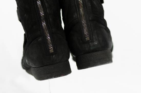 Julius AW11 Waxed Black Strapped Leather Boots Size US 9 / EU 42 - 5