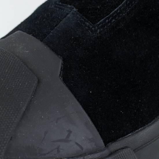 Julius 7 Black Cow Suede Leather Hi Top Sneakers Shoes Size US 11 / EU 44 - 6