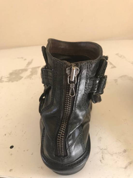 Julius AW12 gas mask removable gun holster boots Size US 9.5 / EU 42-43 - 3