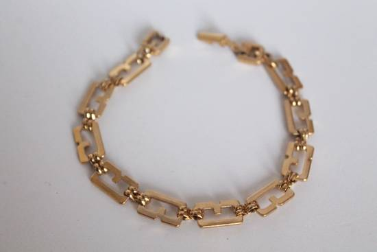 Givenchy Gold Plated G-Link Bracelet Size ONE SIZE