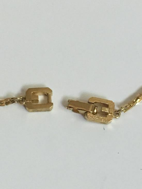 Givenchy 14KGP Givenchy Vintage Gold Razor Style Necklace Size ONE SIZE - 2