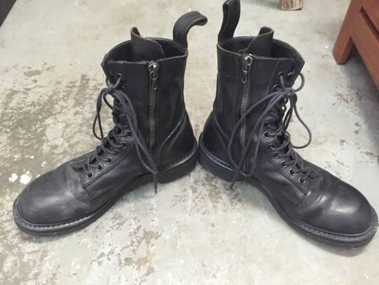 Julius LAST DROP 11-Hole Sidezip Combat Boots Size US 9 / EU 42 - 2
