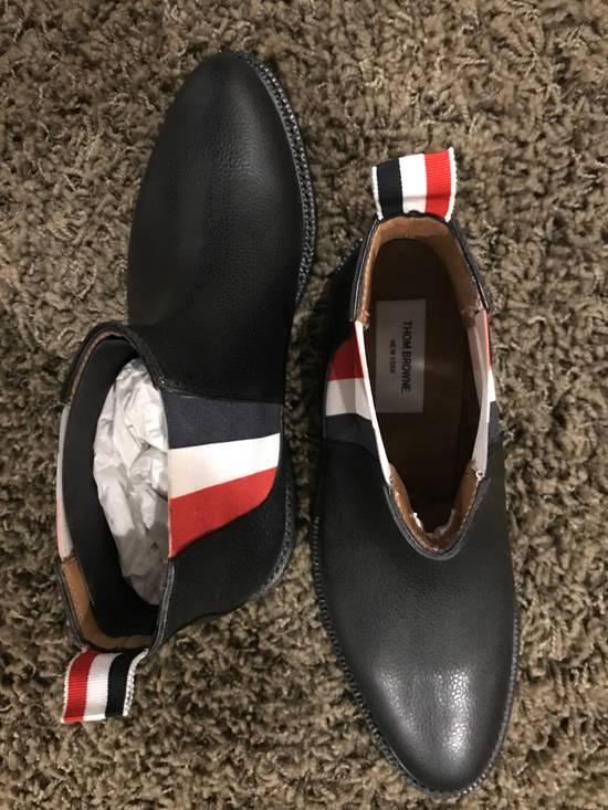 Thom Browne Tricolor Panel Chelsea Boots Size US 9 / EU 42 - 3
