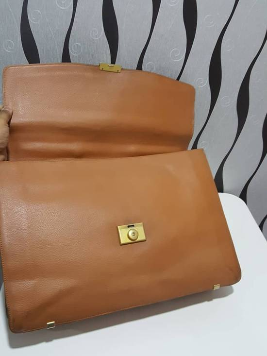 Givenchy RARE & COLLECTION Authentic Givenchy Fully Leather Document Bag / Givenchy Bag / Vintage Givenchy Bag Size ONE SIZE - 2