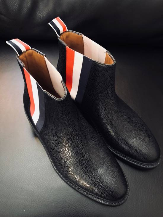 Thom Browne Pebbles Leather Chelsea Boot Size US 6 / EU 39