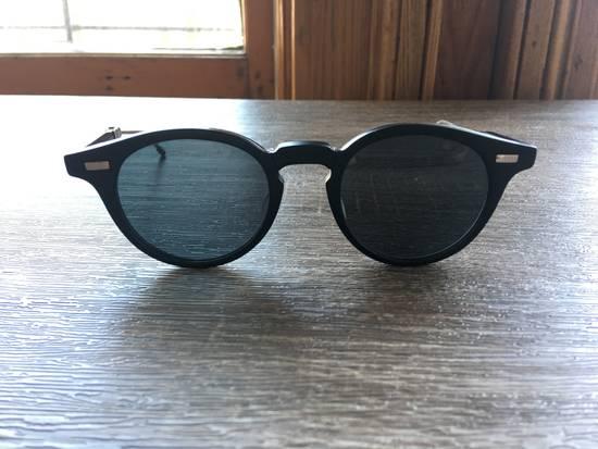 Thom Browne Thom Browne TB-808-A-BLK-SLV-48 Sunglasses Size ONE SIZE