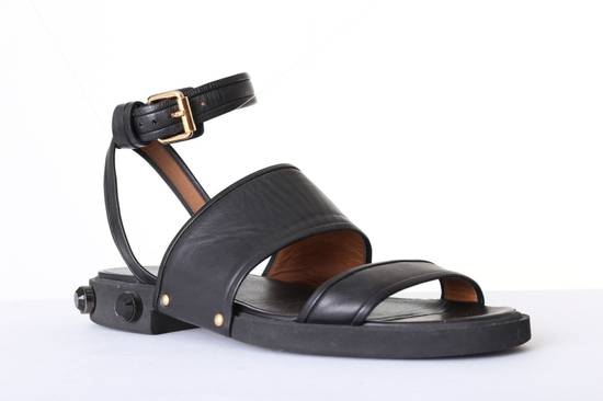 Givenchy GIVENCHY TISCI black leather jewel outsole ankle dual strap sandal EU41 US11 UK8 Size US 8 / EU 41 - 2