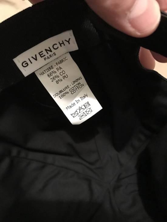 Givenchy Flat Bill Black Cap logo baseball Size ONE SIZE - 2