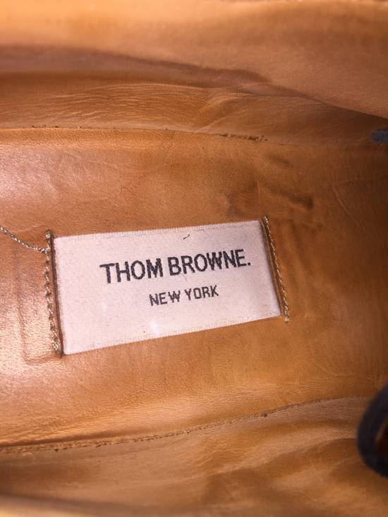 Thom Browne LAST DROP Thom Browne Pebble-Grain Leather Longwing Brogues Size US 11 / EU 44 - 4