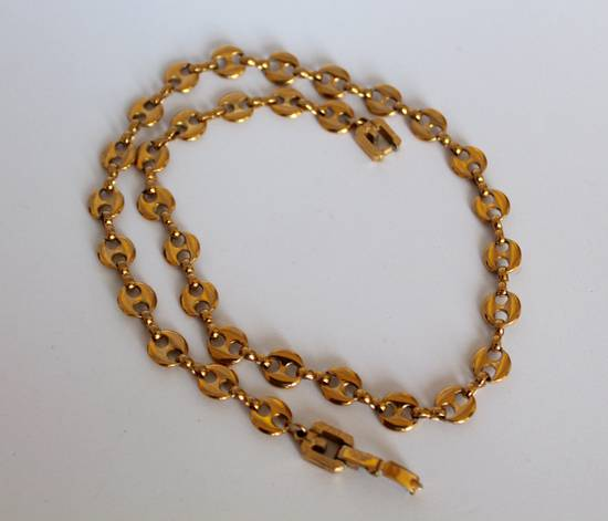 Givenchy Gold Plated Gucci-Link Necklace Size ONE SIZE - 1