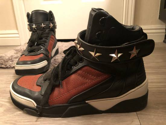 Givenchy Basketball Star-Studded High-Top Sneaker, Black Size US 11 / EU 44 - 1
