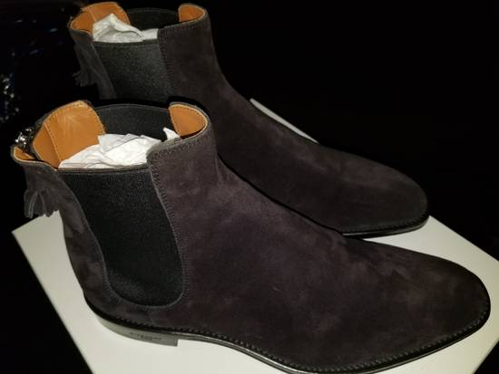 Givenchy Givenchy Suede Rider Chelsea Zip Boot Size US 10 / EU 43 - 5