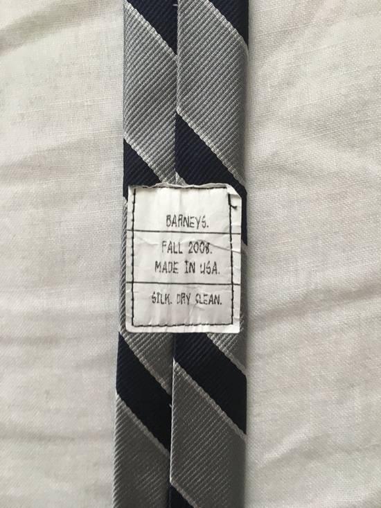 Thom Browne Silk Prep Stripe Tie Size ONE SIZE - 1