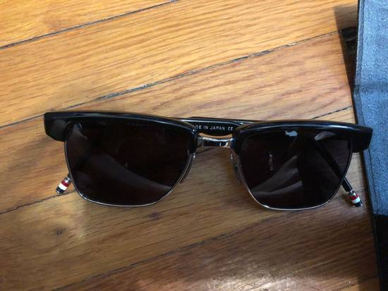 Thom Browne Sunglasses tb006c-t 50/19 145 New Black Silver $800 Size ONE SIZE - 4