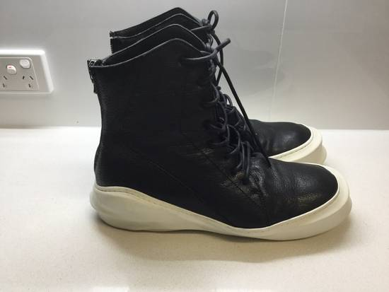 Julius Pebbled Leather Hi Top Liquid Sole Aw 2014 Size US 11 / EU 44