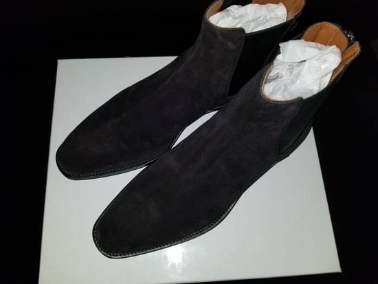 Givenchy Givenchy Suede Rider Chelsea Zip Boot Size US 10 / EU 43 - 8