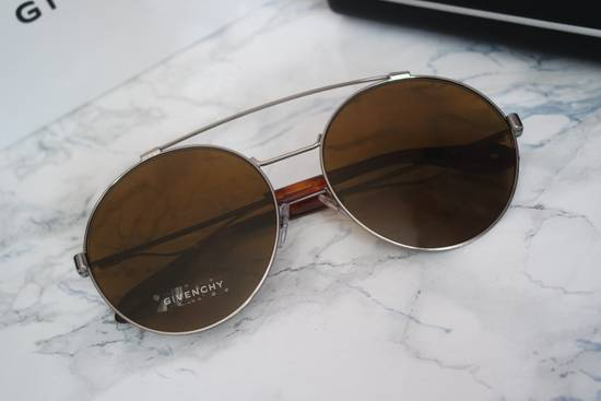 Givenchy NEW Givenchy 7048/S Oversized Round Aviator Sunglasses in Pale Gold/Brown Size ONE SIZE - 3