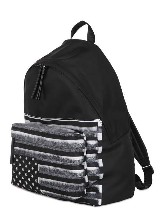 Givenchy American Flag Backpack Black/Grey Size ONE SIZE